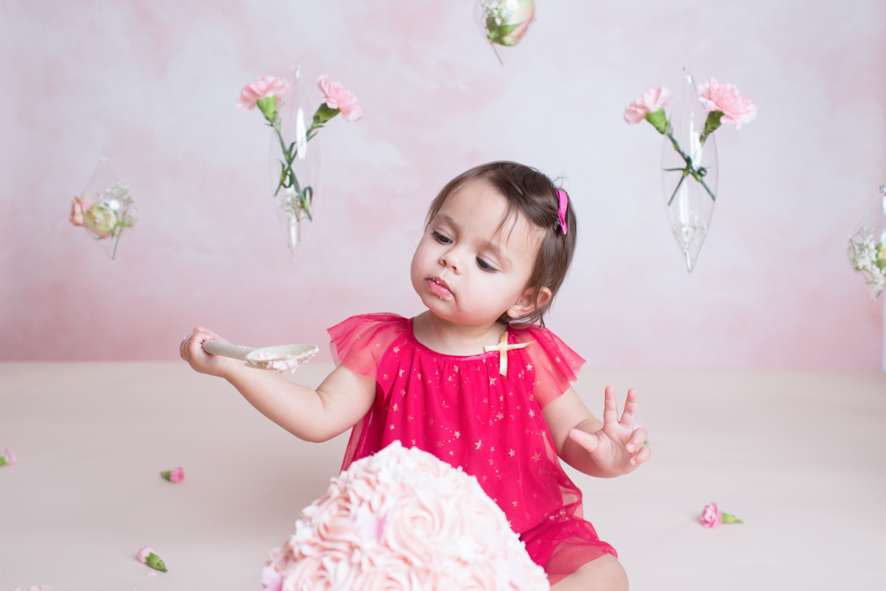 First Birthday Cake Smash Photography Near Me
