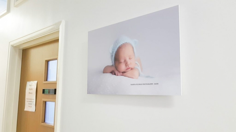 Maternity unit near bath